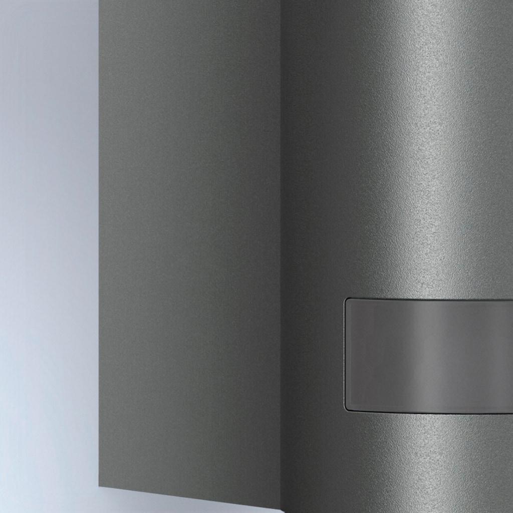 steinel Außen-Wandleuchte »L 605 LED«, LED-Board, 1 St., Warmweiß, 180° Erfassungsbereich, max. 10 m Reichweite, Zeiteinstellung von 60 Sek. - 15 Min., Grundlichtfunktion, 4h Dauerlicht, Softlichtstart, regenwassergeschützt, mit integriertem Bewegungsmelder