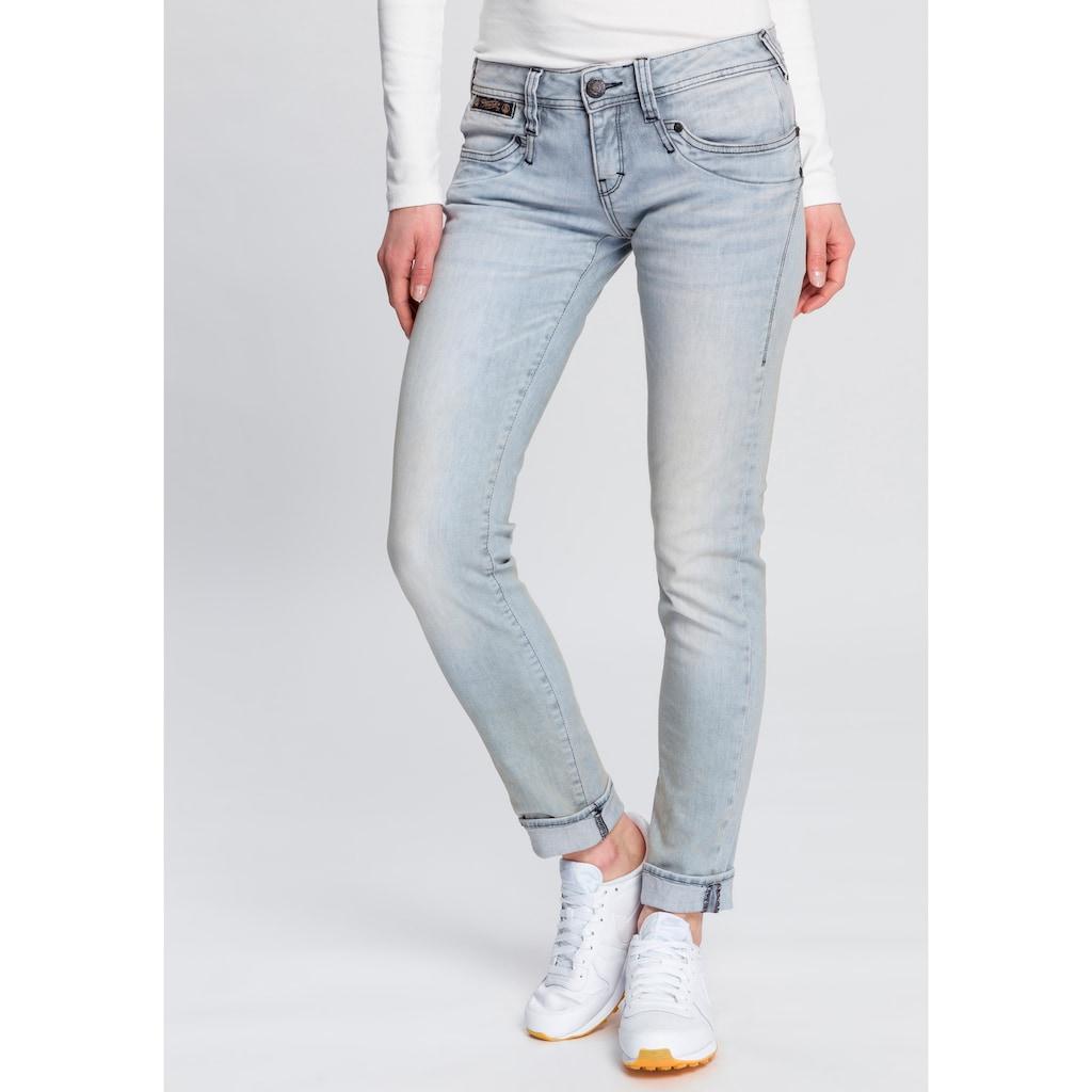 Herrlicher Slim-fit-Jeans »PIPER SLIM DENIM STRETCH«, Heavy Used Powerstretch