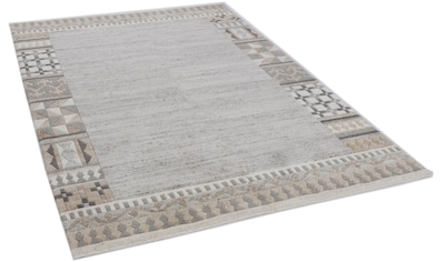 THEKO Wollteppich »Nakarta 6030«, rechteckig, 12 mm Höhe, reine Wolle, handgeknüpft,... kaufen