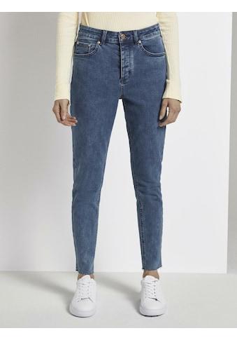 TOM TAILOR mine to five Skinny-fit-Jeans »Emma Straight Jeans mit offenem Saum« kaufen
