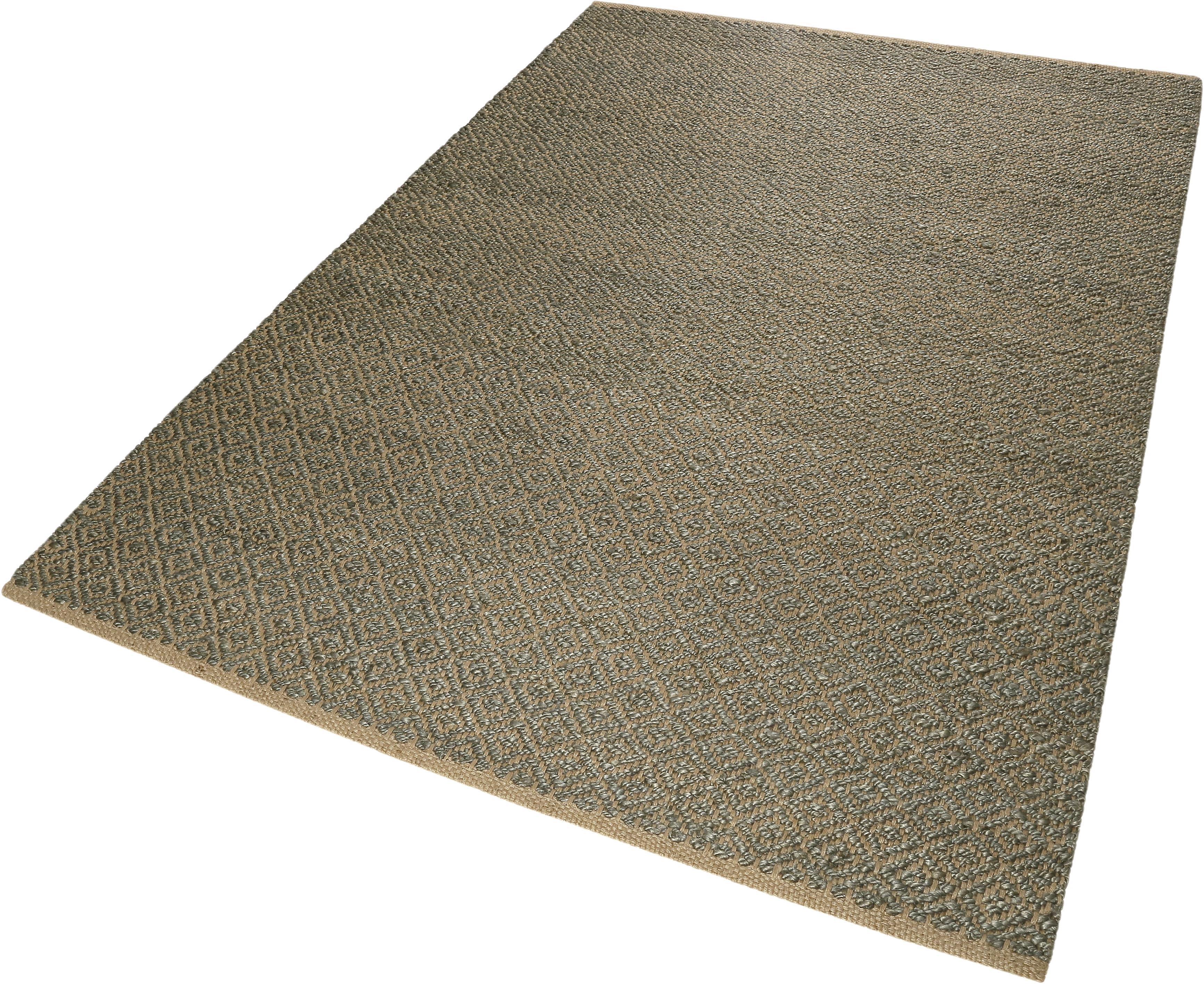 Teppich Denim Nature Esprit rechteckig Höhe 7 mm handgewebt