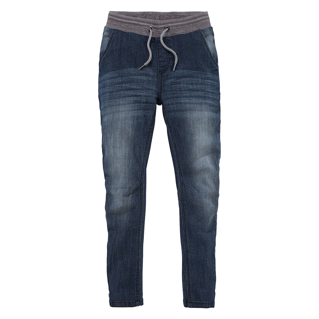 Arizona Stretch-Jeans, in cooler O-Shape Form