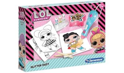 Clementoni® Kreativset »L.O.L. Glitzerstaub Kreativ-Set«, Made in Europe kaufen