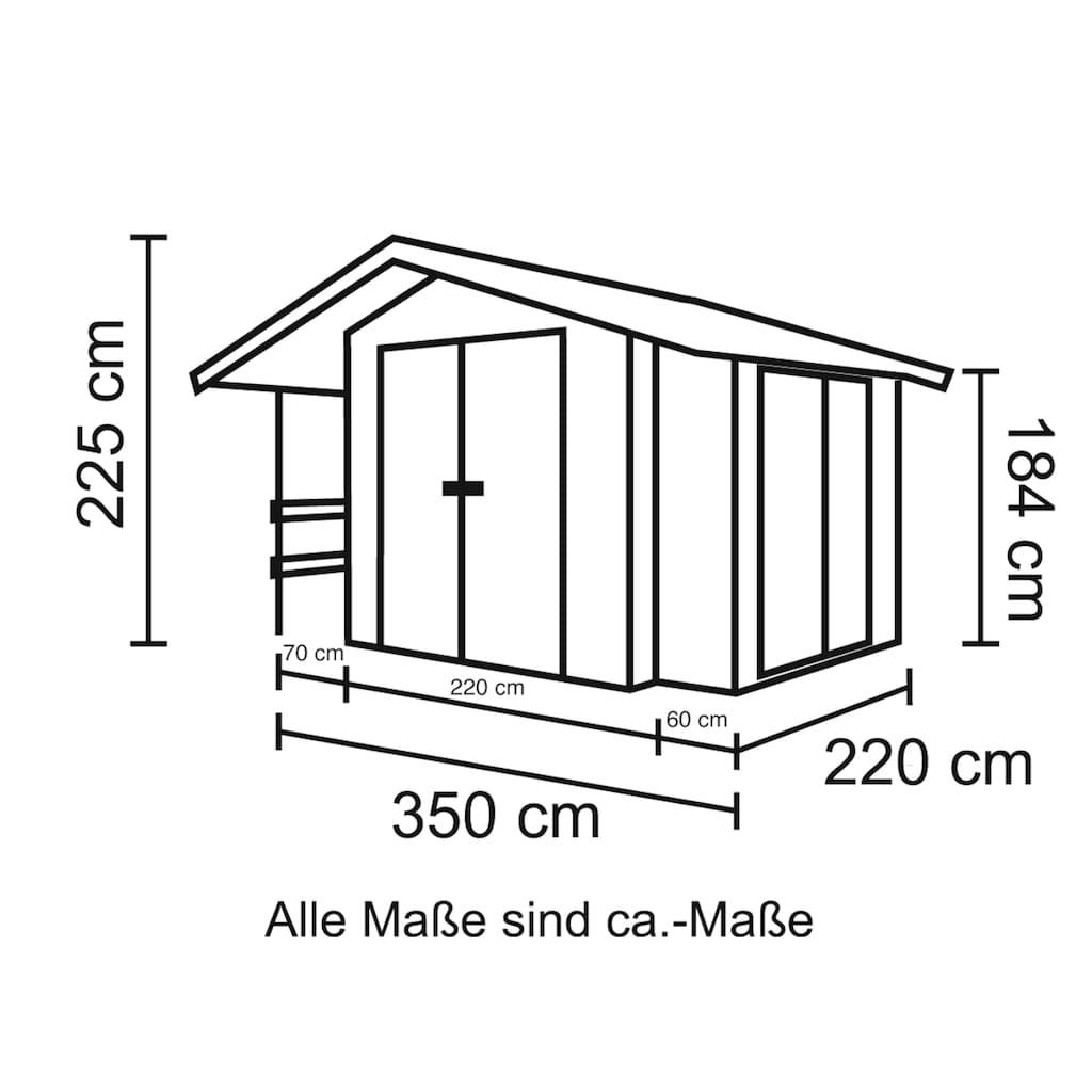 Nordic Holz Gartenhaus »Narva 476«