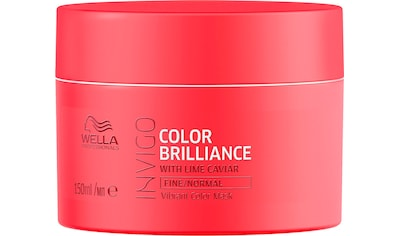 Wella Professionals Haarkur »Invigo Color Brilliance Vibrant Color Mask Fine/Normal«,... kaufen