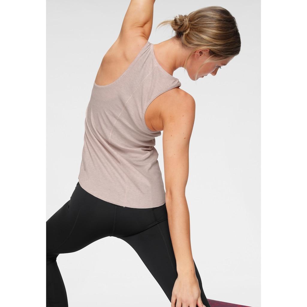 Nike Yogatop »Nike Women's Tank«, Feinrippstruktur