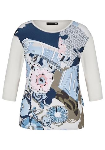 Thomas Rabe Rundhalsshirt, mit Front-Print und ¾-Ärmeln kaufen