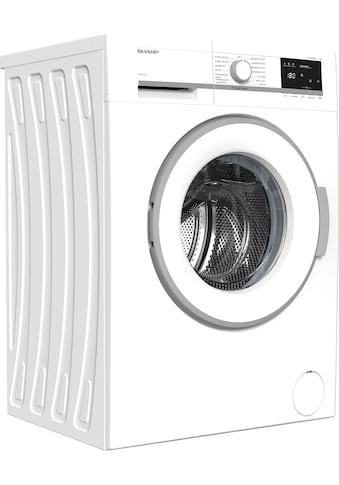 Sharp Waschmaschine »ES-GFB7143WD-DE«, ES-GFB7143WD-DE, 7 kg, 1400 U/min kaufen