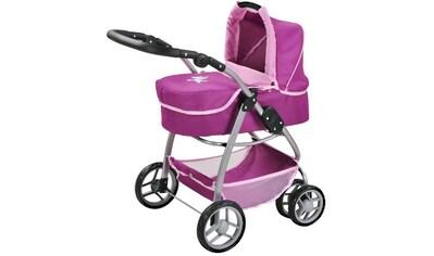 """Knorrtoys® Kombi - Puppenwagen """"Coco, UMA. Das Einhorn, lila"""" kaufen"""