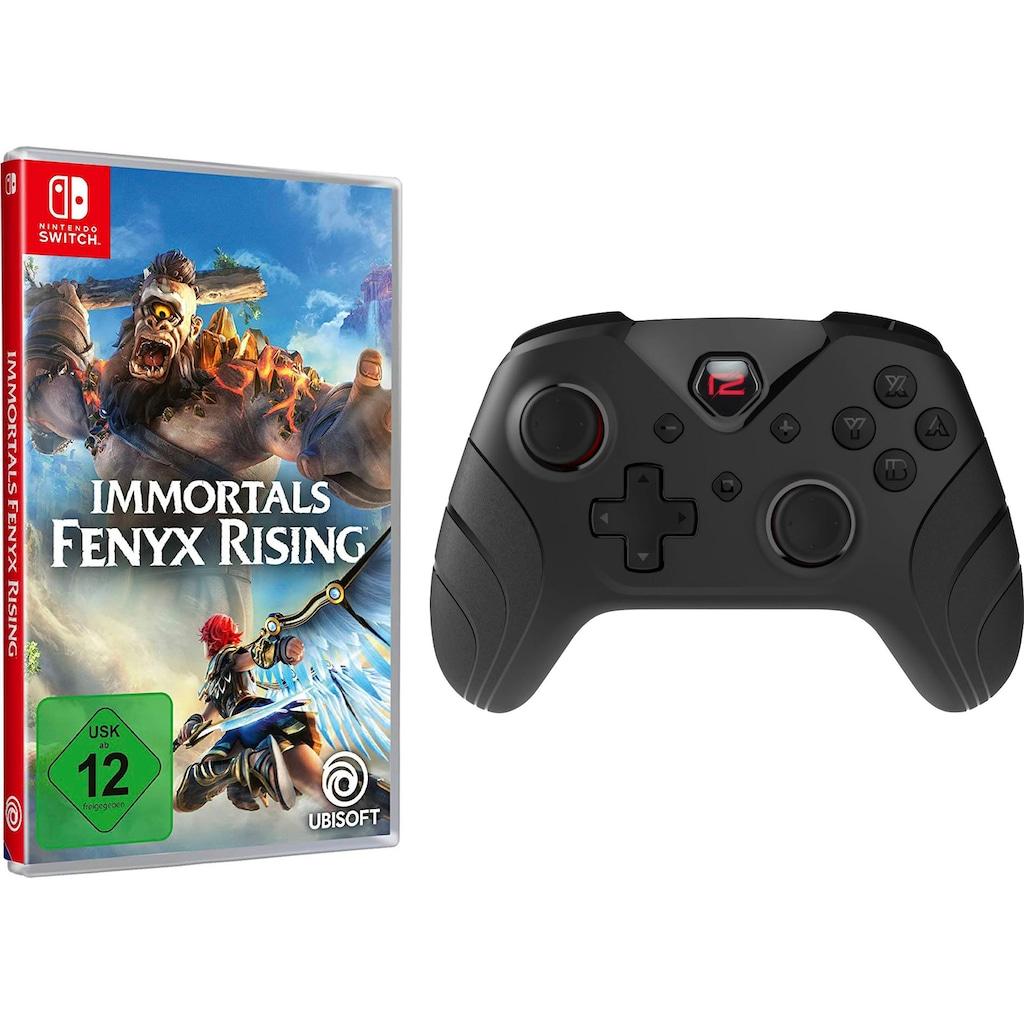 UBISOFT Spiel »Immortals Fenyx Rising + Switch Pro Pad X«, Nintendo Switch