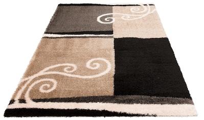 Hochflor - Teppich, »Tamina«, DELAVITA, rechteckig, Höhe 43 mm, maschinell gewebt kaufen