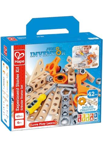 """Hape Konstruktions - Spielset """"Junior Inventor Erfinder Starter Set"""", Holz Kunststoff, (42 - tlg.) kaufen"""