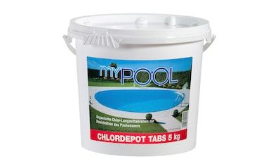 MyPool Chlortabletten »Chlordepot Tabs«, 5 kg kaufen