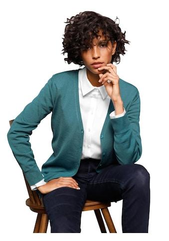 Casual Looks  Strickjacke aus Merino - Wolle kaufen