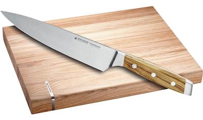 Felix Solingen Schneidebrett »FIRST CLASS WOOD«, (Set), mit Kochmesser 21cm kaufen