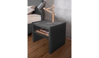 alina Nachttisch »Sancho«, inklusive Glasplatte, passend zu Boxspringbett »Henri« &... kaufen