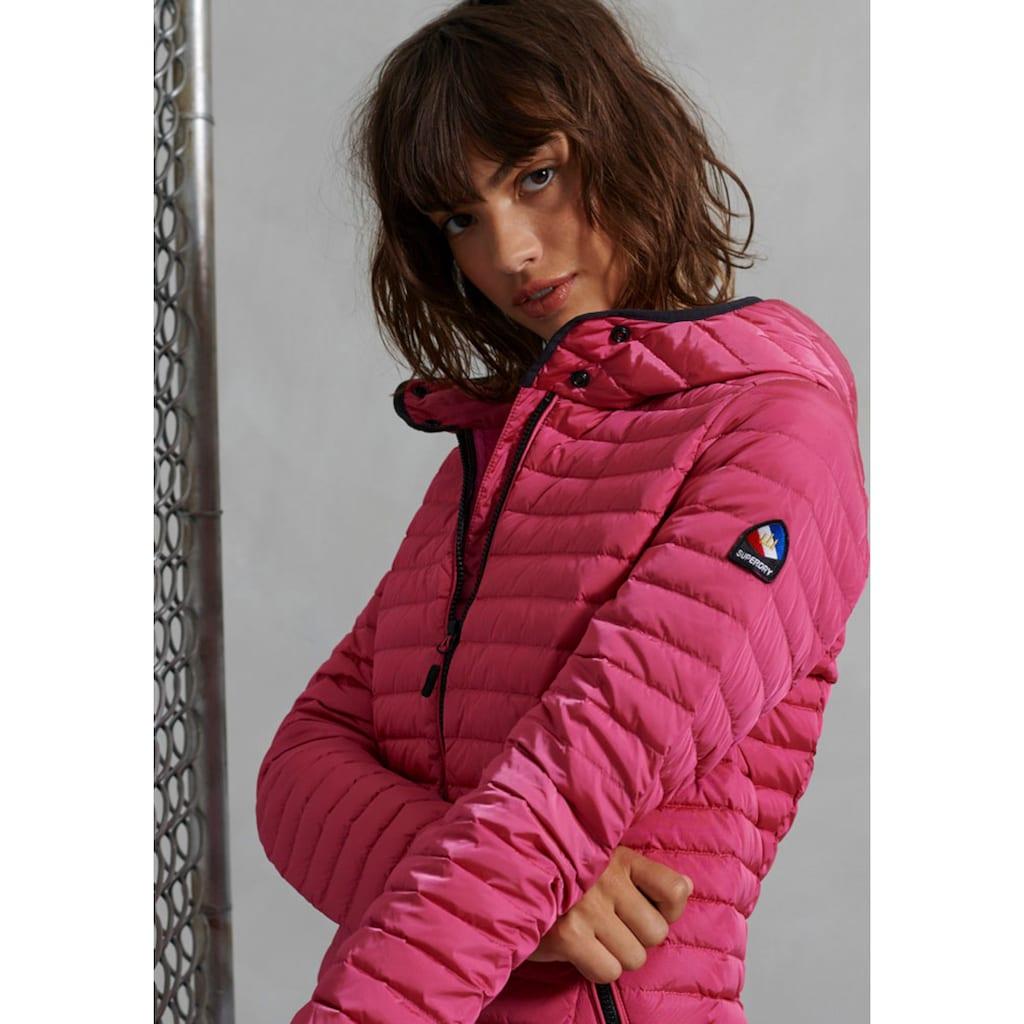 Superdry Leichtdaunenjacke »CORE DOWN«, Premium Daunenjacke mit eleganter, sportlicher Steppung