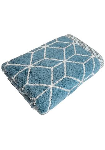 framsohn frottier Handtücher »Design Jacquard«, (2 St.), mit mehrfarbig gewebtem Saum kaufen