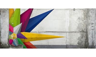 ARCHITECTS PAPER Fototapete »Atelier 47 3D - Star«, 3D - Betonoptik kaufen