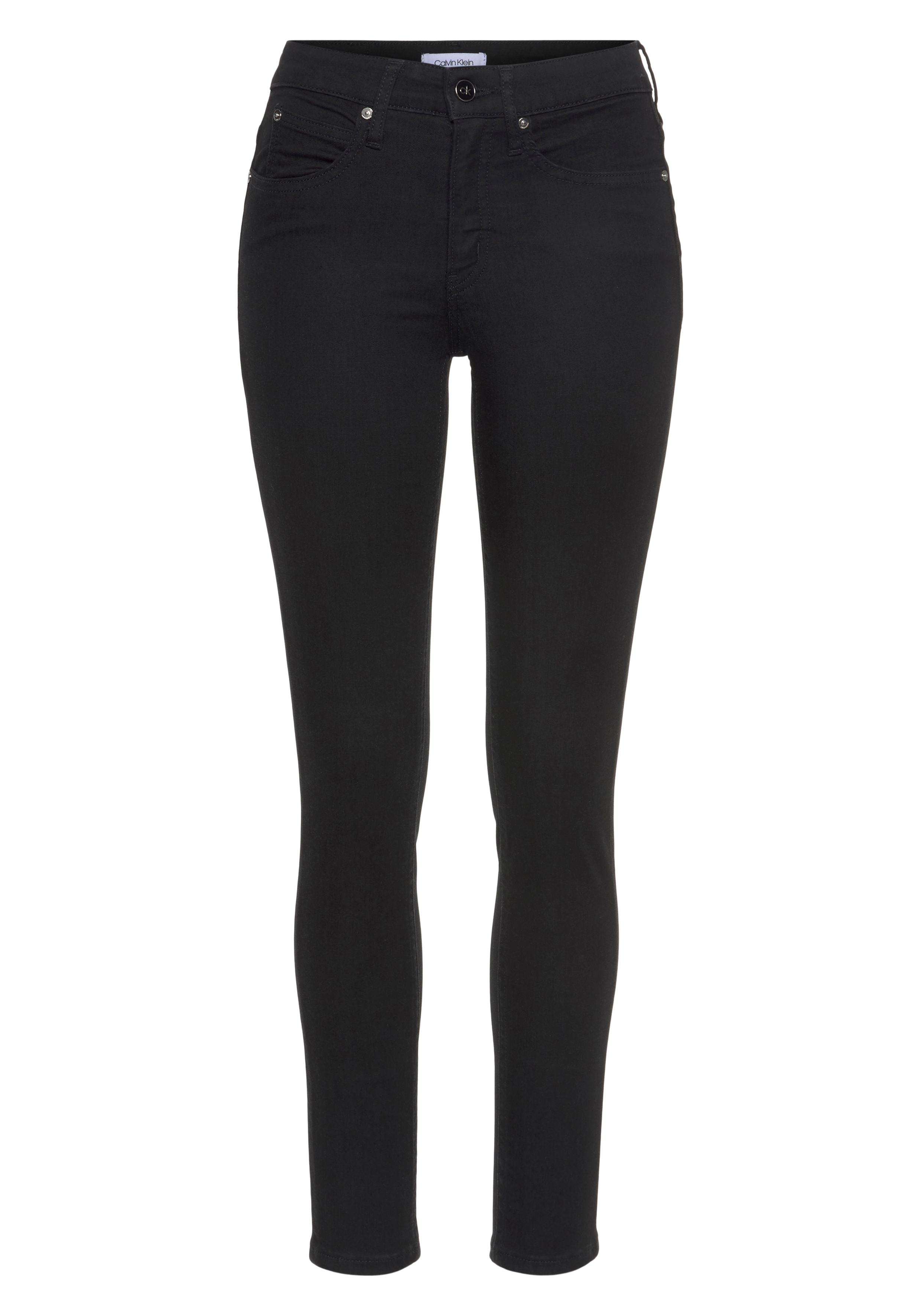 calvin klein -  Skinny-fit-Jeans MID RISE SKINNY