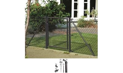 GAH ALBERTS Zaun - Außenecke Eck - Set für Maschendrahthöhe 150 cm, mit Bodenhülse kaufen