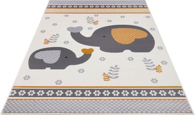 HANSE Home Kinderteppich »Happy Elefant«, rechteckig, 9 mm Höhe kaufen