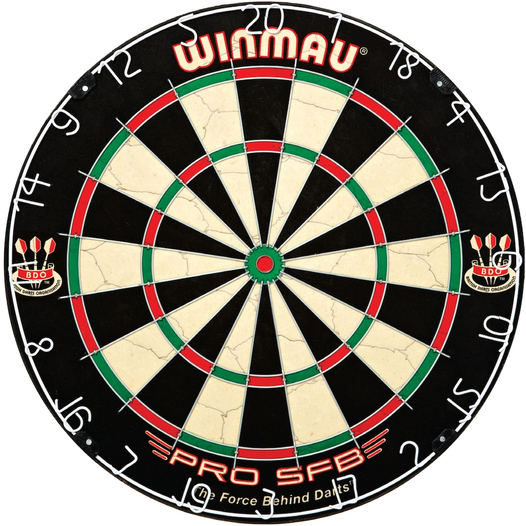 Carromco Dartscheibe »Winmau Steeldartboard Pro SFB, Bristle«