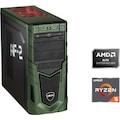 Hyrican »Military Gaming 6531« Gaming-PC (AMD, Ryzen 5, RX 550, Luftkühlung)