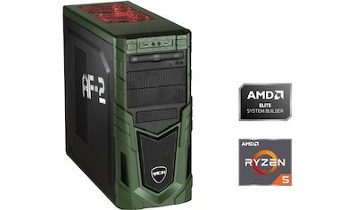 Hyrican »Military Gaming 6531« Gaming - PC (AMD, Ryzen 5, RX 550, Luftkühlung) kaufen