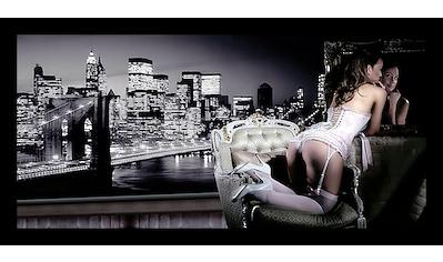 Home affaire Bild »Evening in New York«, mit Rahmen kaufen