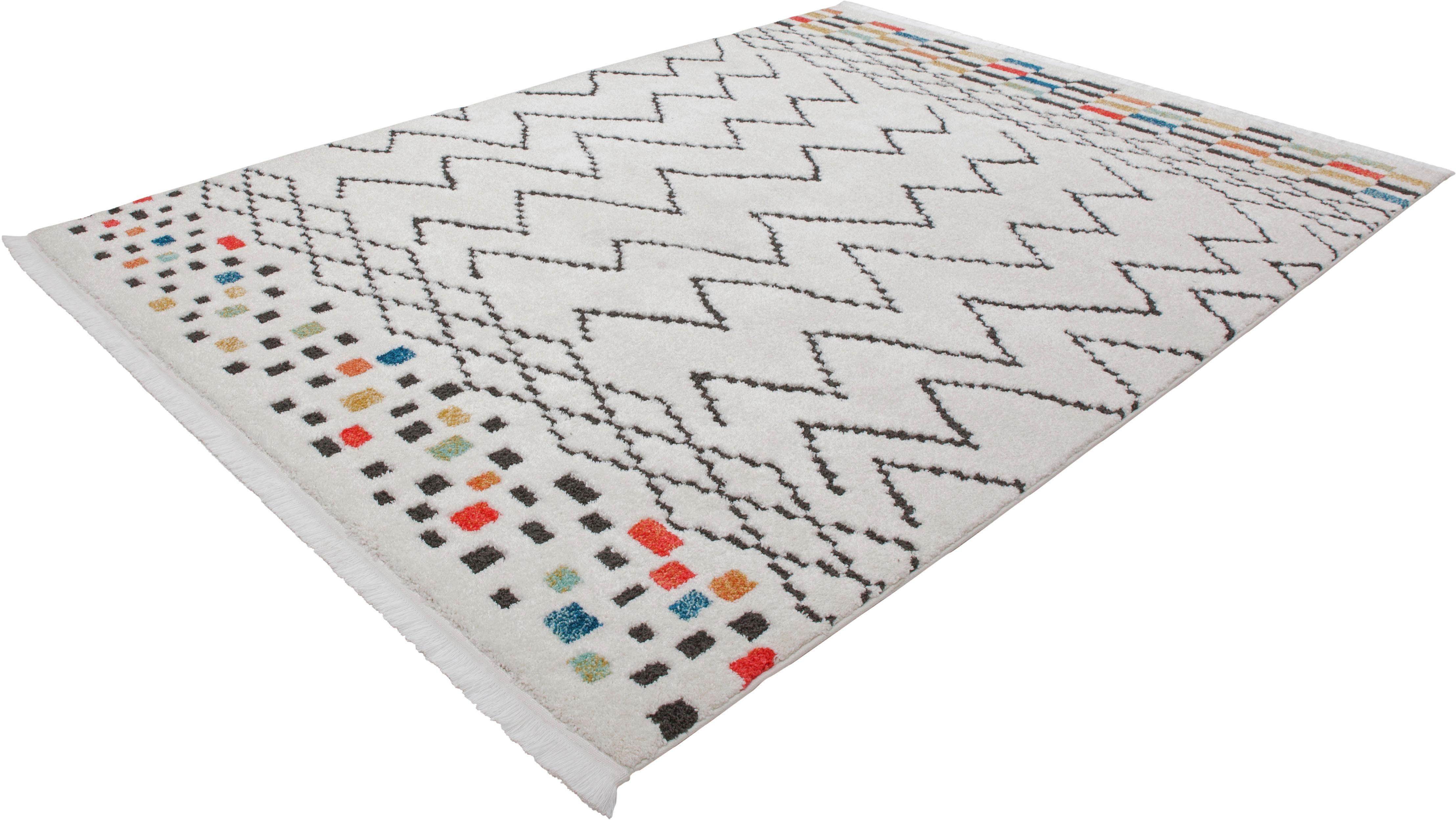 Teppich Yoel 415 calo-deluxe rechteckig Höhe 23 mm maschinell zusammengesetzt