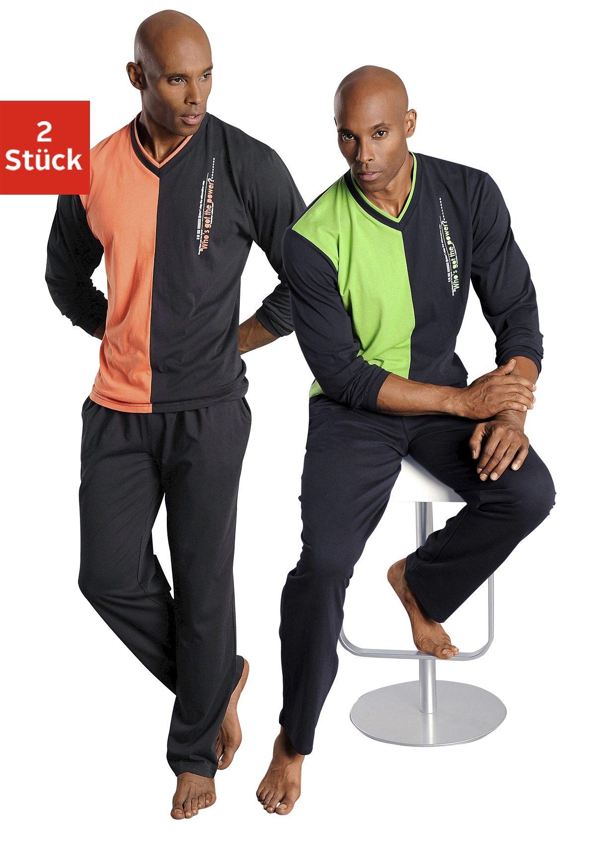 le jogger Pyjama (2 Stück)   Bekleidung > Wäsche > Nachtwäsche   Le Jogger