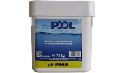 MYPOOL Poolpflege »pH - minus«, 7,5 kg kaufen