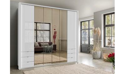 WIEMANN Falttürenschrank »Kansas«, mit Spiegel und Glas kaufen