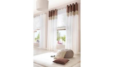 Vorhang, »Sorel«, my home, Ösen 1 Stück kaufen