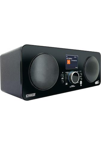 Schwaiger Internetradio Digital Radio DAB/DAB+ mit UKW DAB Empfang »Radiowecker mit Bluetooth« kaufen