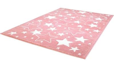 Carpet City Kinderteppich »Bueno Kids 1325«, rechteckig, 13 mm Höhe, Sterne,... kaufen