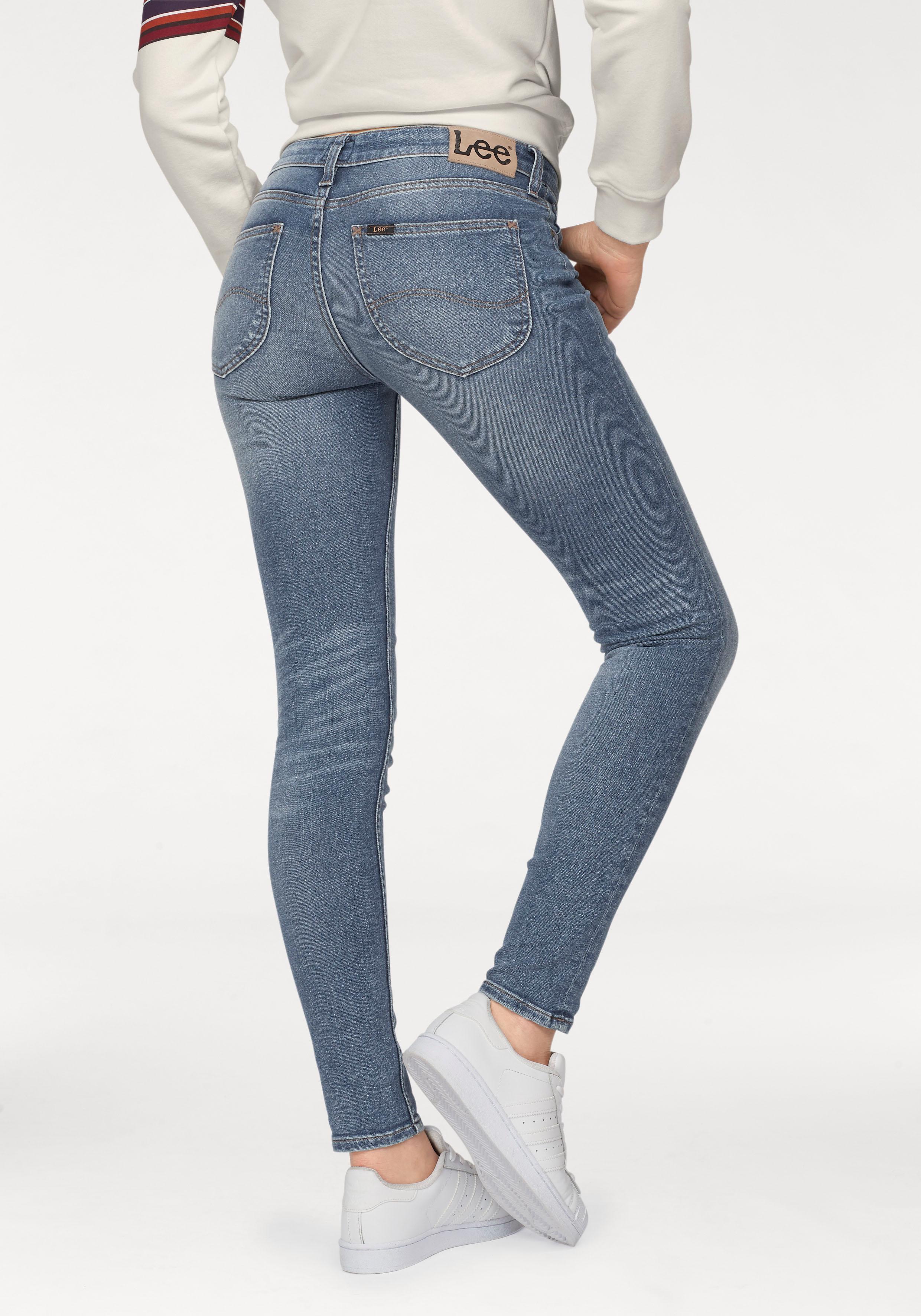 Lee Destroyed-Jeans Scarlett | Bekleidung > Jeans > Destroyed Jeans | Lee