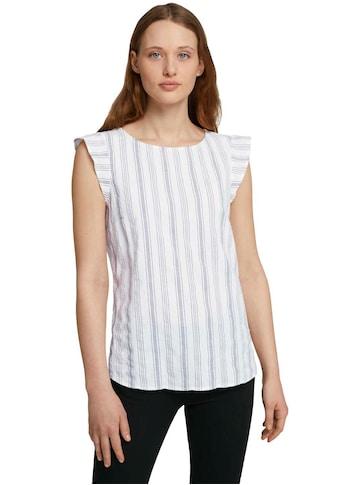 TOM TAILOR Denim Shirttop, mit Flügelärmeln kaufen