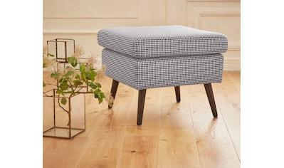 Guido Maria Kretschmer Home&Living Hocker »Salla«, Bezug auch in Luxus-Microfaser in Teddyfelloptik kaufen