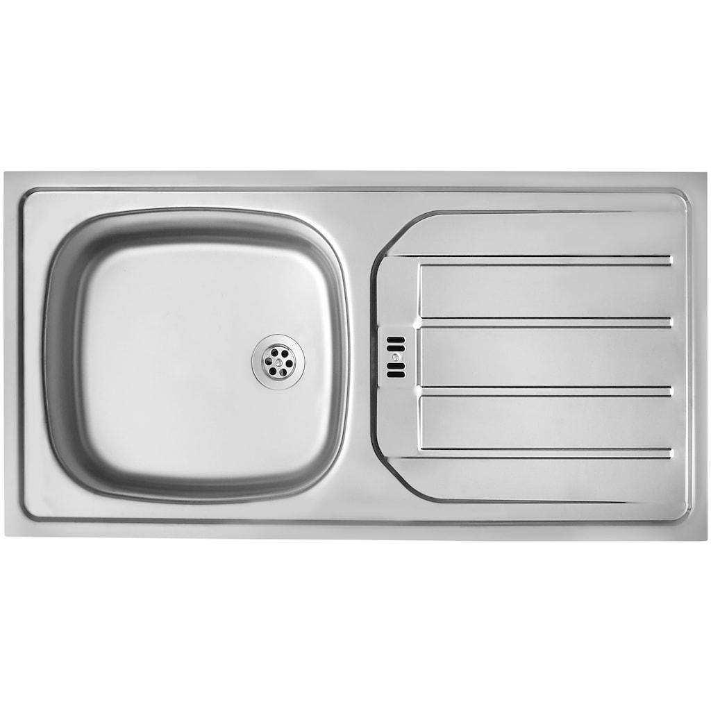 wiho Küchen Winkelküche »Michigan«, mit E-Geräten, 230 x 170 cm
