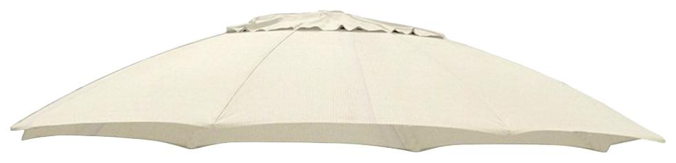 sungarden Ersatzschirmbespannung, Ø 375 cm, rund beige Sonnenschirme -segel Gartenmöbel Gartendeko Ersatzschirmbespannung