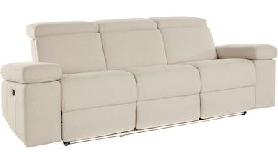 Places of Style 3-Sitzer »Kilado«, mit 2x Relaxfunktion, verstellbarer Armlehne,... kaufen