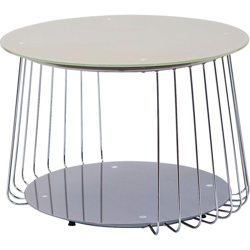 INOSIGN Couchtisch »Riva«, mit modernem Metallgestell