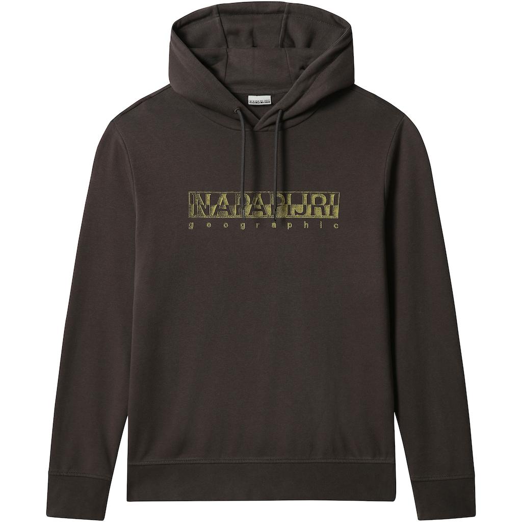 Napapijri Kapuzensweatshirt »BALLAR«, mit großem Logofrontprint