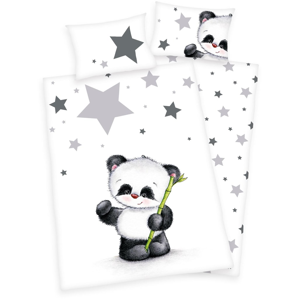 Baby Best Babybettwäsche »Jana Panda«, mit Panda