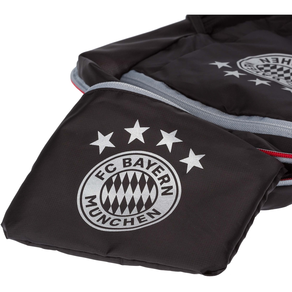 FC Bayern Freizeitrucksack, faltbar
