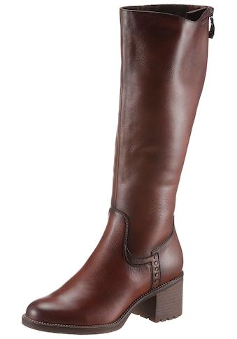 Tamaris Stiefel, mit langem Innenreißverschluss kaufen
