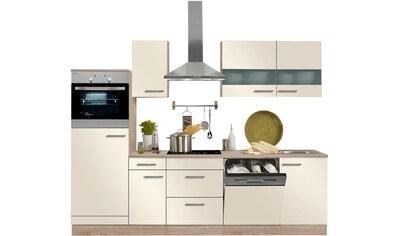 OPTIFIT Küchenzeile »Kalmar«, mit E-Geräten, Breite 270 cm kaufen