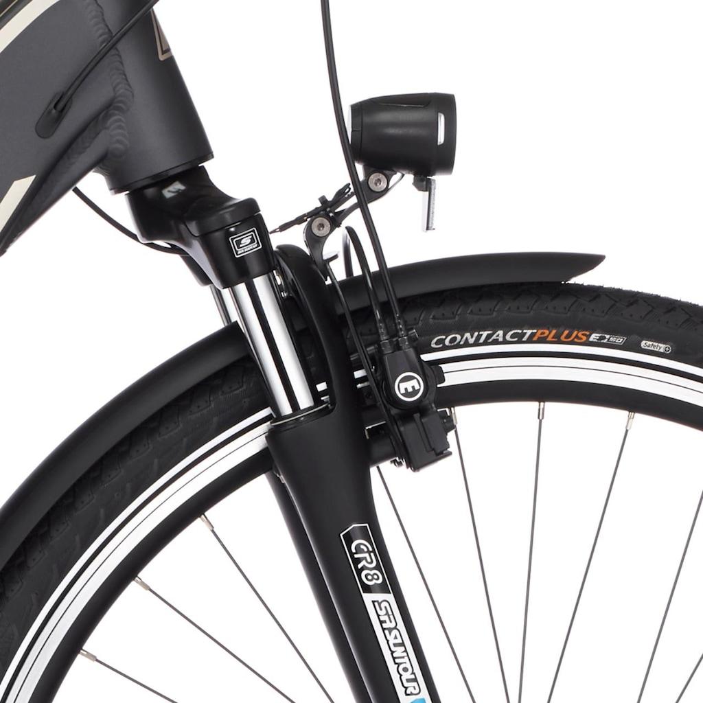 FISCHER Fahrräder E-Bike »CITA 5.0i«, 7 Gang, Shimano, Nexus, Mittelmotor 250 W
